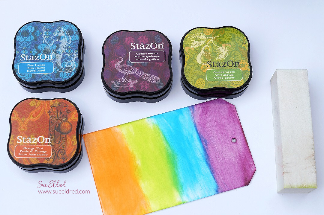 How to use Stazon Ink on Acrylic