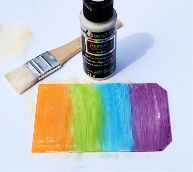 Using Stazon Ink on Acrylic