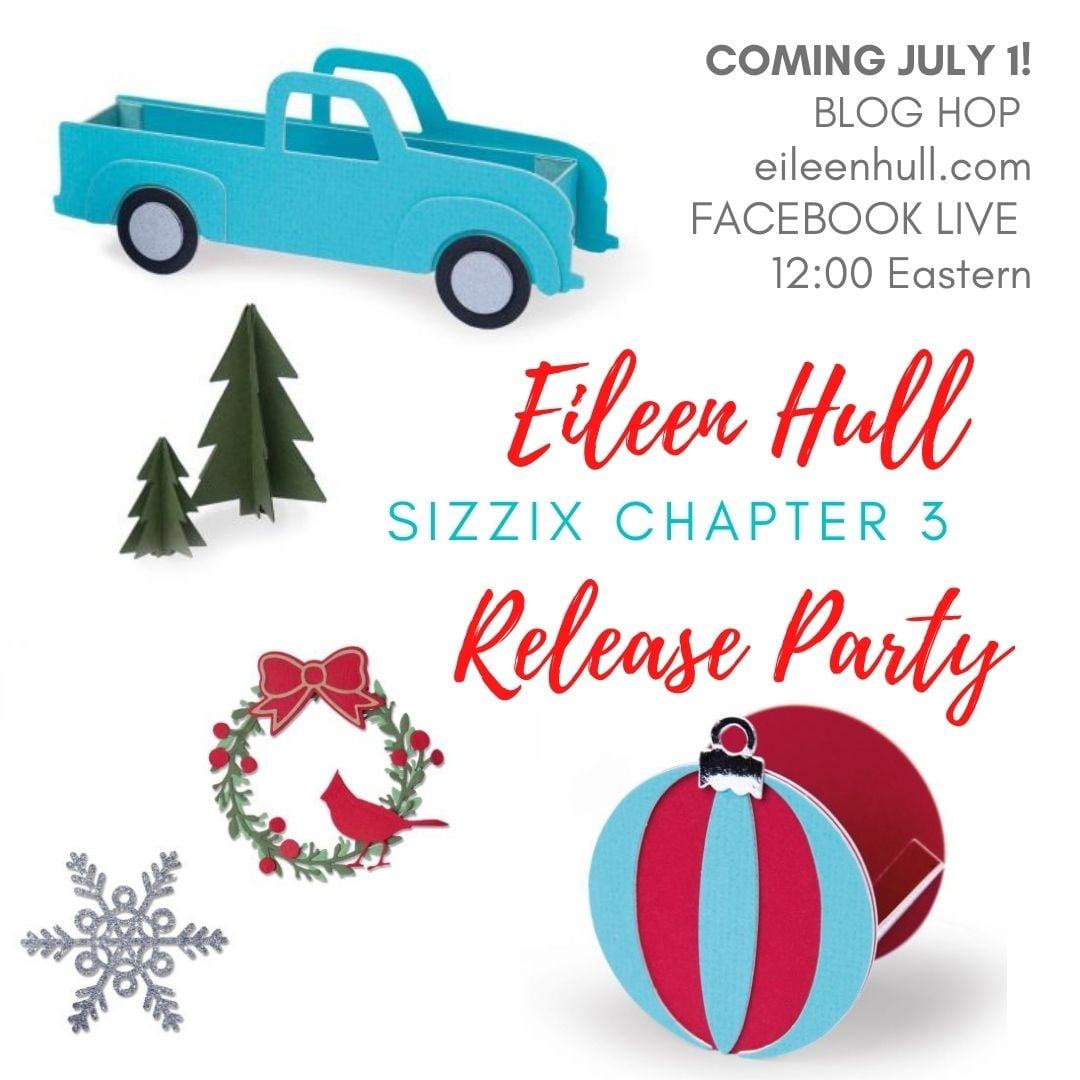 Eileen Hull/ Sizzix Chapter 3 Dies