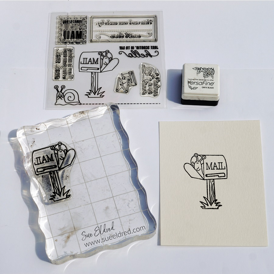 Simple Masking and Background Techniques for Stamping