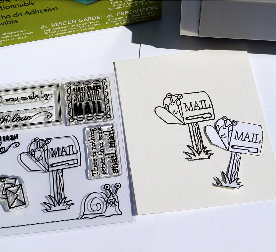 Creating Masks for Stamping Cards