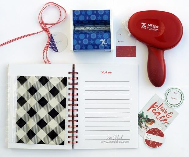 DIY Holiday Planner-Notes & Receipt Holder-Sue's Creative Workshop www.sueeldred.com 1549