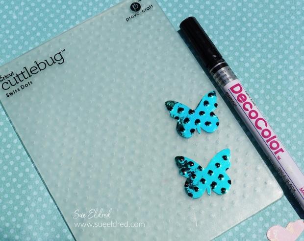 Opal Butterfly Card