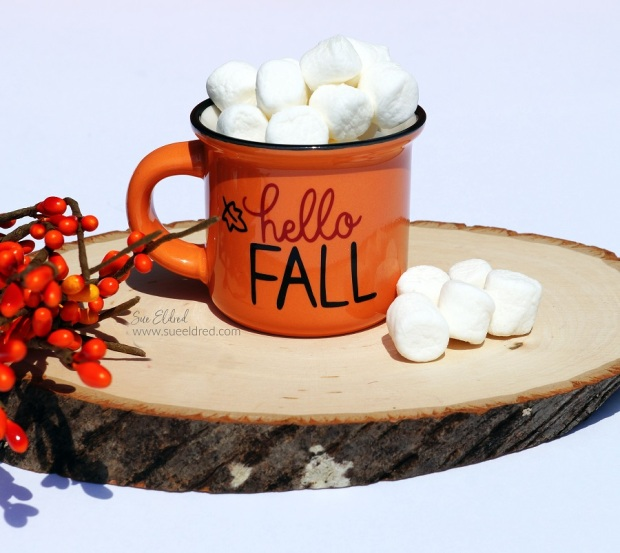 Fall Crafting with Vinyl
