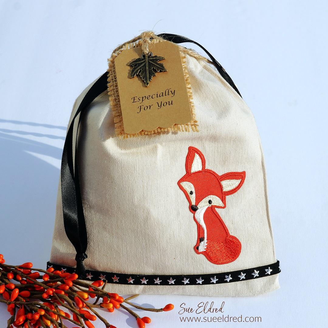 Reusable Fox Gift Bag