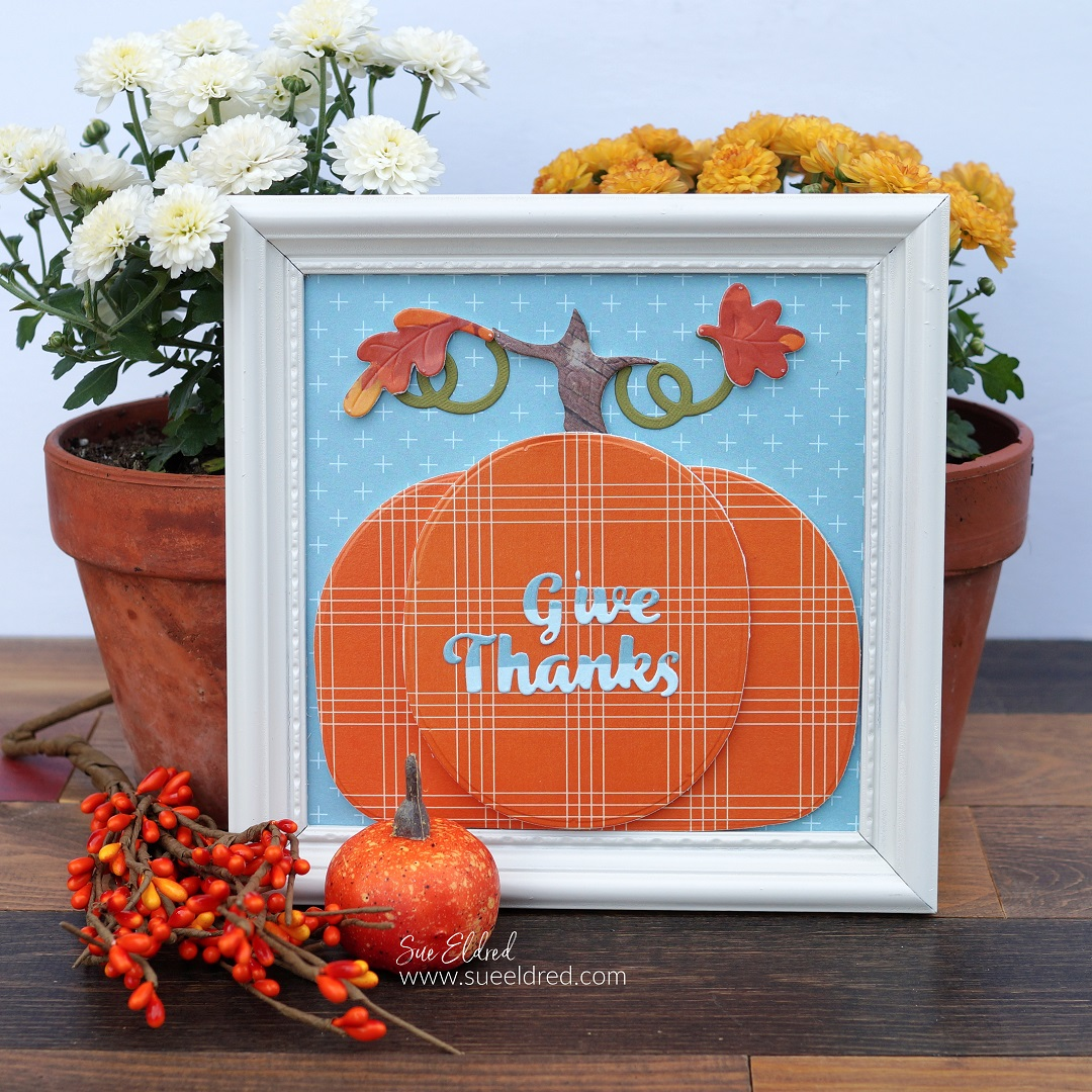 Fall Paper Crafted Home Décor