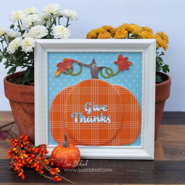 Paper Crafting Fall Home Décor