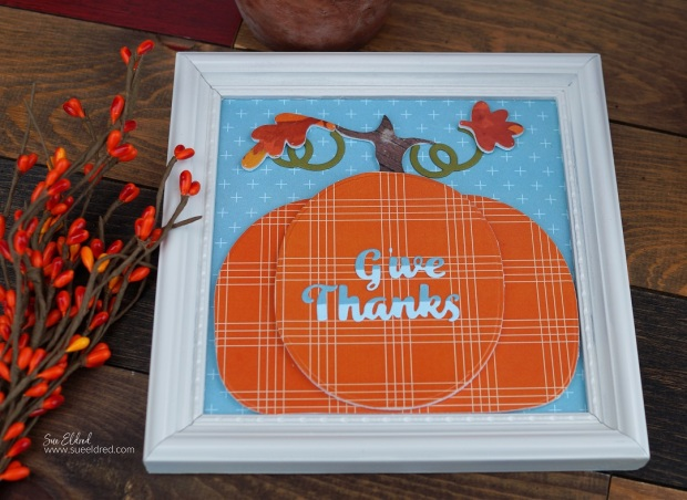 Fall Paper Crafted Home Decor