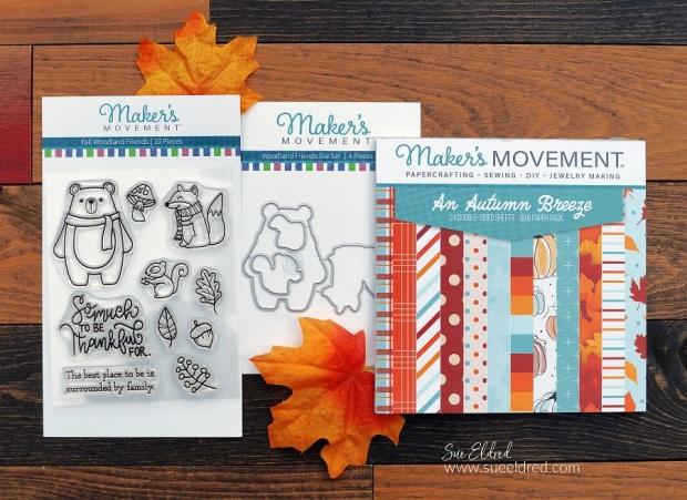 Fall Woodland Friends Card