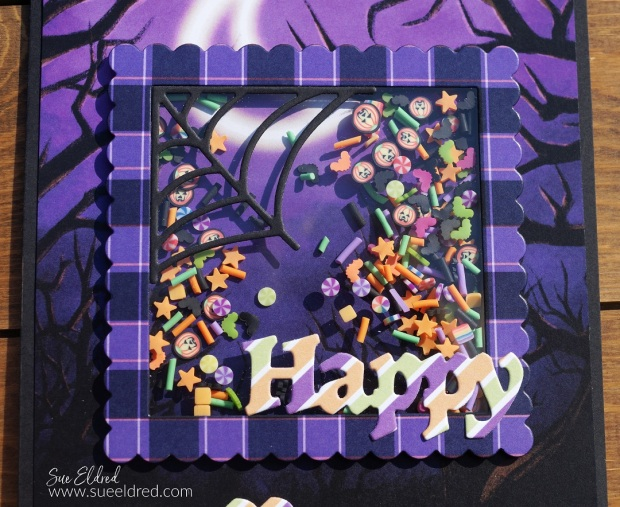 Trick or Treat Halloween Shaker Card