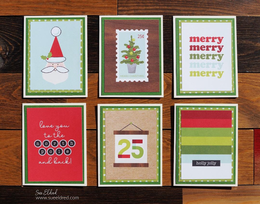 Make it Merry Notecard Folio