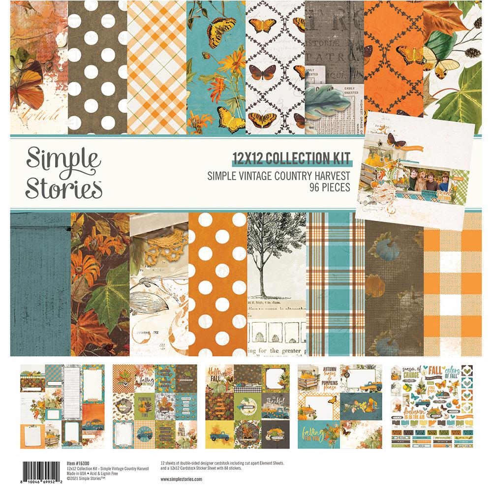 Simple Stories Simple Vintage Country Harvest Collection Kit