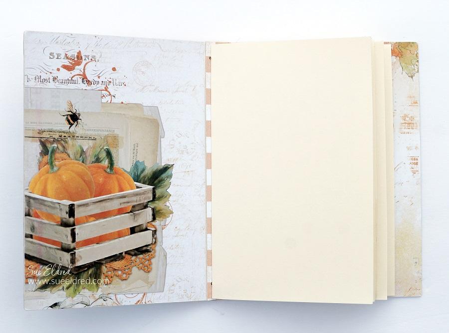 Simple Vintage Fall Memories Album