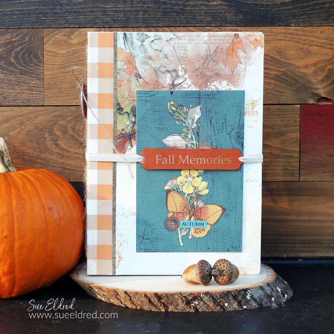 Simple Vintage Fall Memories Scrapbook Album