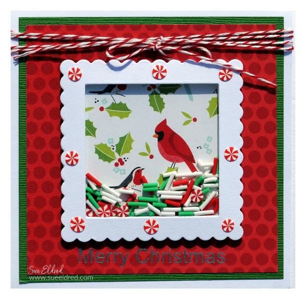 Cardinal Shaker Card