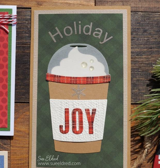 Holiday Joy Gift Card Money Holder